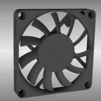AGN07010 70 x 10mm Axial DC Fan