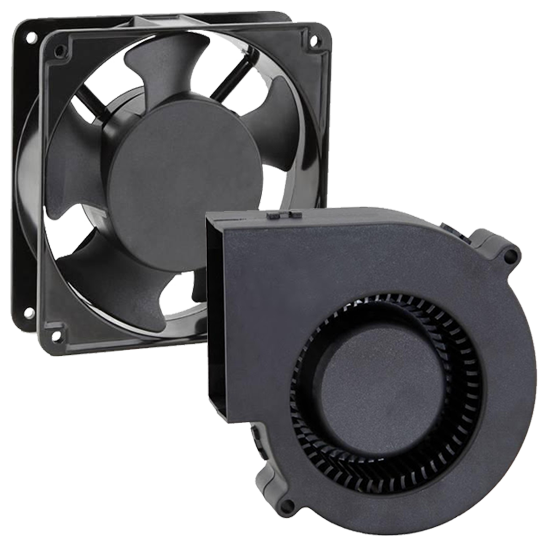 <br><br>Fans,<br>Blowers &<br>Impellers
